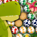 Egg Shooter Bubble Dinosaur (Яйцо Шутер Пузырь Динозавр)
